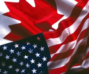 Canada US Flags 2